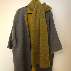 Oversized bulky coat